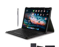 Tabletas 2 en 1 Android 9.0 Tablet PC 10 pulgadas 4 + 64GB Wifi 4G Llamadas